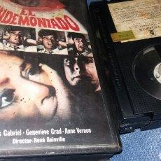 Cine: EL ENDEMONIADO- 1968 RENE GAINVILLE - TERROR. Lote 83816982