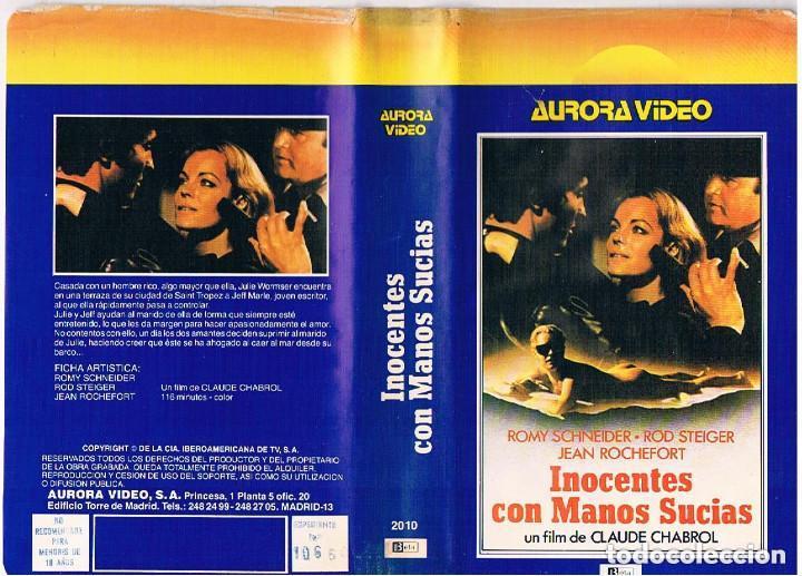 INOCENTES CON MANOS SUCIAS ROMY SCHNEIDER - REGALO MONTAJE SOBRE DVD (Cine - Películas - BETA)