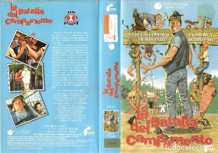LA BATALLA DEL CAMPAMENTO - JIM VARNEY VICTORIA RACIMO JOHN VERNON - REGALO MONTAJE EN DVD HD DUAL (Cine - Películas - BETA)