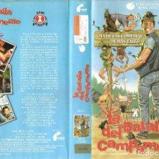 Cine: LA BATALLA DEL CAMPAMENTO - JIM VARNEY VICTORIA RACIMO JOHN VERNON - REGALO MONTAJE EN DVD HD DUAL. Lote 87637400