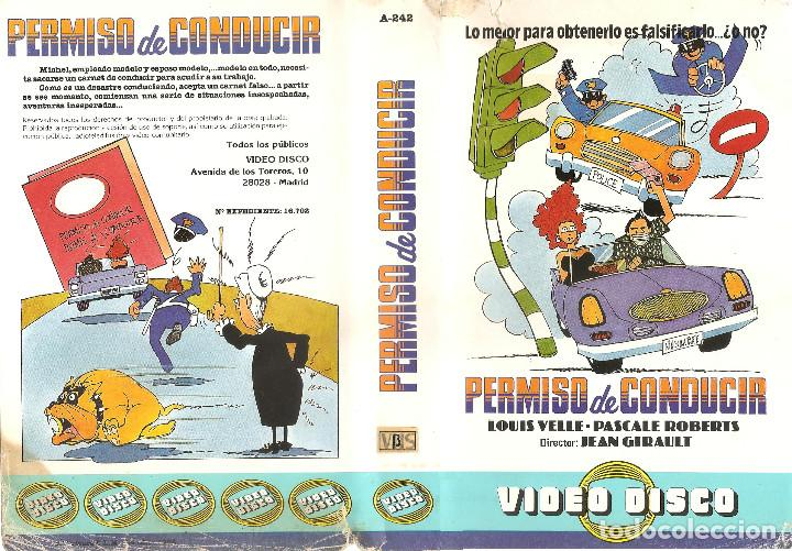 PERMISO DE CONDUCIR. LOUIS VELLE, PASCALE ROBERTS, MAURICE BIRAUD - REGALO MONTAJE EN DVD DUAL (Cine - Películas - BETA)