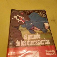 Cine: EL MUNDO DE LOS DINUSAURIOS. Lote 90526424