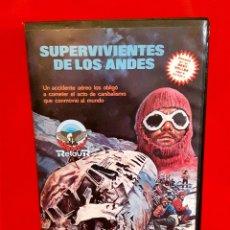 Cine: SUPERVIVIENTES DE LOS ANDES (1976) - RENÉ CARDONA JR.. Lote 90893455