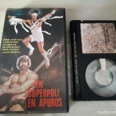 Cine: ANTIGUA PELICULA UN SUPERPOLI EN APUROS BETA V PLAYER S.A VER FOTOS BUEN ESTADO. Lote 92832780