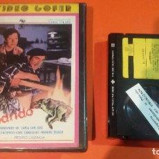 Cine: BETA - EL LADRIDO - 1 EDICION - PERFECTO ESTADO- NUNCA DVD - UNICA TC. Lote 97538463