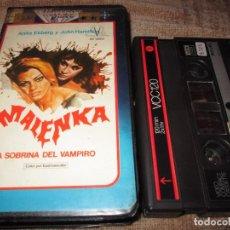 Cine: VIDEO 2000 ~ MALENKA ~ AMANDO DE OSSORIO. Lote 98712051