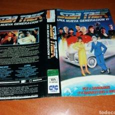 Cine: CARATULA VHS- STAR TREK 6. Lote 98726859