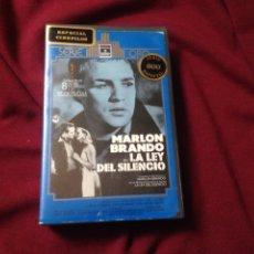 Cine: LA LEY DEL SILENCIO BETA ORIGINAL DE VIDEOCLUB MARLON BRANDO. Lote 98850796
