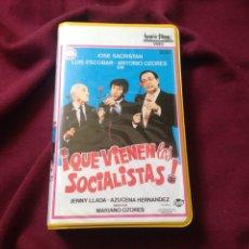 Cine: QUE VIENEN LOS SOCIALISTAS BETA/OZORES ORIGINAL DE VIDEOCLUB. Lote 98852171