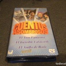 Cine: CUENTOS ASOMBROSOS 2 BETA ORIGINAL DE VIDEOCLUB. Lote 103292664