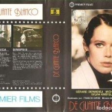 Cine: DE GUANTE BLANCO - SYLVIA KRISTEL - GERARD DEPARDIEU - ENNIO MORRICONE - REGALO MONTAJE SOBRE DVD. Lote 104454139