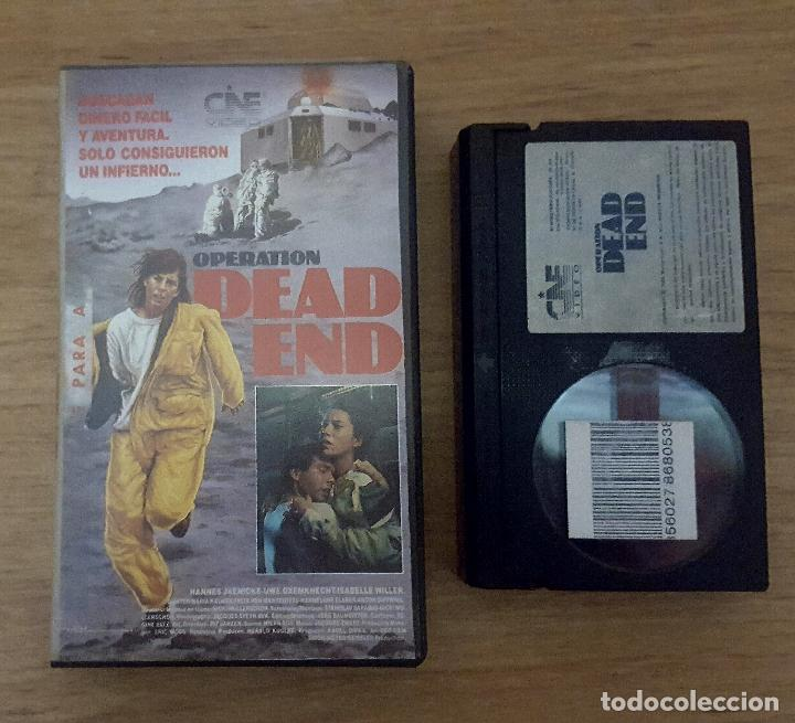BETA - OPERATION DEAD END- MUY RARA!! (Cine - Películas - BETA)