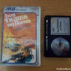 Cine: BETA- LOS TIGRES NO LLORAN - MUY RARA!!. Lote 107288575
