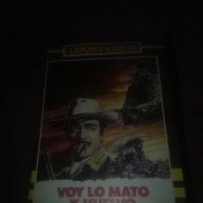 Cine: PELÍCULA BETA. VOY LO MATO Y VUELVO. . Lote 110279971
