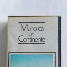 Cine: MENORCA UN CONTINENTE VIDEO BETA AÑOS 80. Lote 117342819