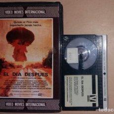 Cine: BETA • EL DÍA DESPUÉS (1983) NICHOLAS MEYER - STEVEN GUTTENBERG [IVS - CIENCIA FICCIÓN]. Lote 118458979