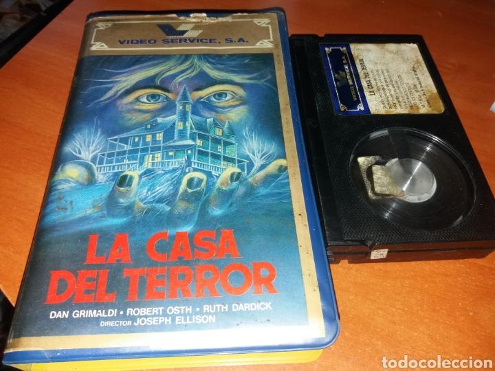 LA CASA DEL TERROR- BETA- DIR: JOSEPH ELLISON- DESCATALOGADA TERROR USA 1980 (Cine - Películas - BETA)