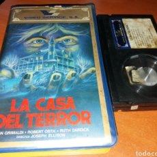 Cine: LA CASA DEL TERROR- BETA- DIR: JODEPH ELLISON- DESCATALOGADA TERROR USA 1980. Lote 119350983