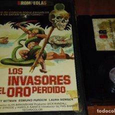 Cine - LOS INVASORES DEL ORO PERDIDO . LAURA GEMSER - BETAMAX - 120024171