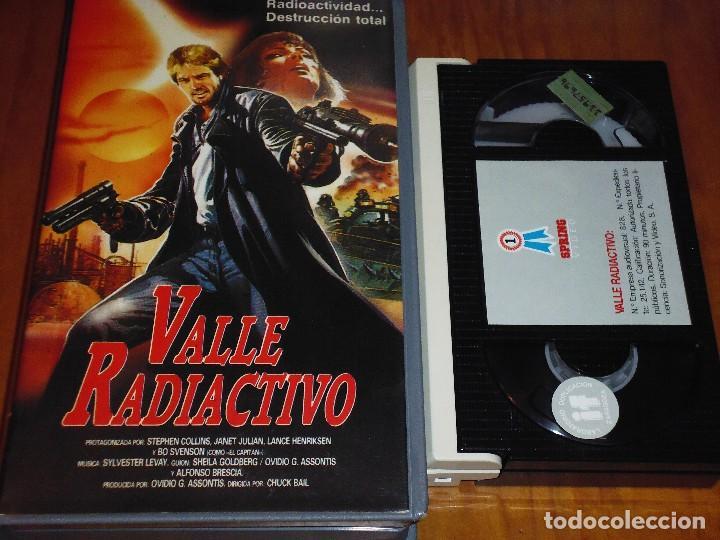 VALLE RADIACTIVO - BETAMAX (Cine - Películas - BETA)