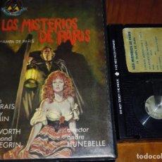 Cine: LOS MISTERIOS DE PARIS / EL HAMPA DE PARIS - BETAMAX. Lote 120133571