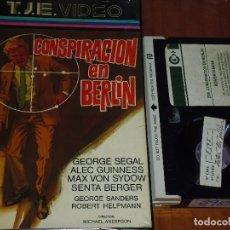 Cine: CONSPIRACION EN BERLIN - ESPIONAJE - BETAMAX. Lote 120408363