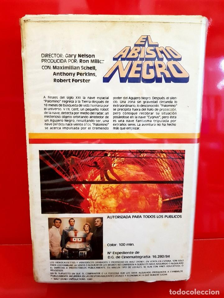 Cine: EL ABISMO NEGRO - Maximilian Schell, Anthony Perkins - WALT DISNEY - Foto 2 - 180019200