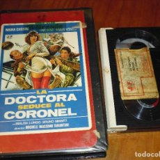 Cine: LA DOCTORA SEDUCE AL CORONEL - BETAMAX. Lote 123117879