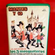 Cine: LA LOCA HISTORIA DE LOS 3 MOSQUETEROS (1983) - OJO BETA. Lote 123903595