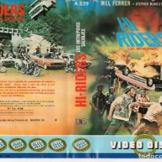 Cine: BETA - HI-RIDERS LOS INTREPIDOS SALVAJES - ROAD MOVIE. Lote 125503315