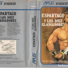 Cine: BETA - ESPARTACO Y LOS DIEZ GLADIADORES - DAN DAVIS, HELGA LINE. Lote 125505595
