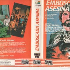 Cine: BETA - EMBOSCADA ASESINA - JAMES BROLIN - THRILLER. Lote 125506007