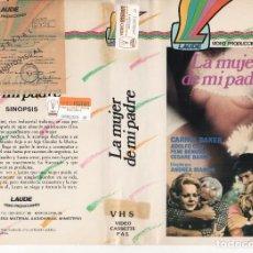 Cine: BETA - LA MUJER DE MI PADRE - CARROL BAKER / ANDREA BIANCHI. Lote 125507483