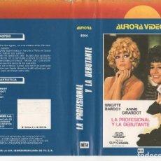 Cine: BETA - LA PROFESIONAL Y LA DEBUTANTE - BRIGITTE BARDOT, ANNIE GIRARDOT - 1ª EDICION. Lote 125510619