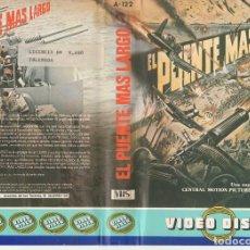 Cine: BETA - EL PUENTE MAS LARGO - BELICO AMARILLO. Lote 125511651