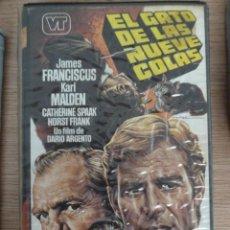 Cine: EL GATO DE LAS NUEVE 9 COLAS DARIO ARGENTO MAC BETA ORIGINAL. Lote 126899707
