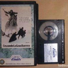 Cine: BETA • CRUZANDO LA GRAN BARRERA (1976) STEWART RAFFILL, ROBERT LOGAN. Lote 128388843