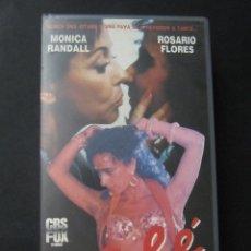 Cine: BETA VIDEO CALE ROSARIO FLORES MONICA RANDALL ANTONIO FLORES CBS FOX VIDEO . Lote 128822983