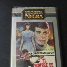 Cine: BETA EL HOMBRE DE MARRAKECH GEORGE HAMILTON ALBERTO DE MENDOZA 1ª EDICION ETIQUETA NEGRA . Lote 129387603