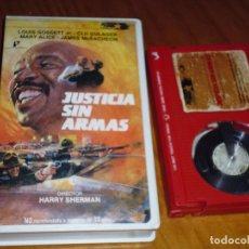 Cine: JUSTICIA SIN ARMAS . BETAMAX - PEDIDO MINIMO 6 EUROS. Lote 130438686
