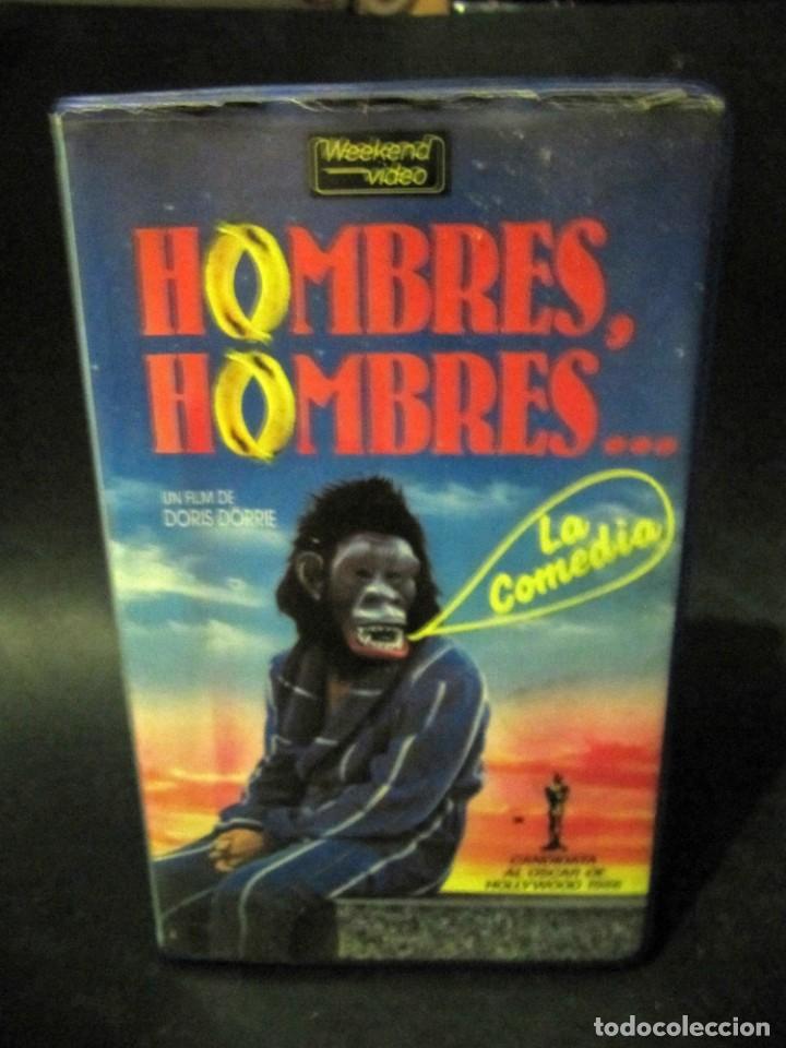 BETA VIDEO HOMBRES HOMBRES HEINER LAUTERBACH UWE OCHSENKNECHT DORIS DÖRRIE 1ª EDICION CAJA GRANDE (Cine - Películas - BETA)