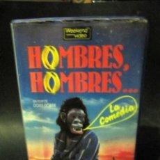 Cine: BETA VIDEO HOMBRES HOMBRES HEINER LAUTERBACH UWE OCHSENKNECHT DORIS DÖRRIE 1ª EDICION CAJA GRANDE. Lote 130512702