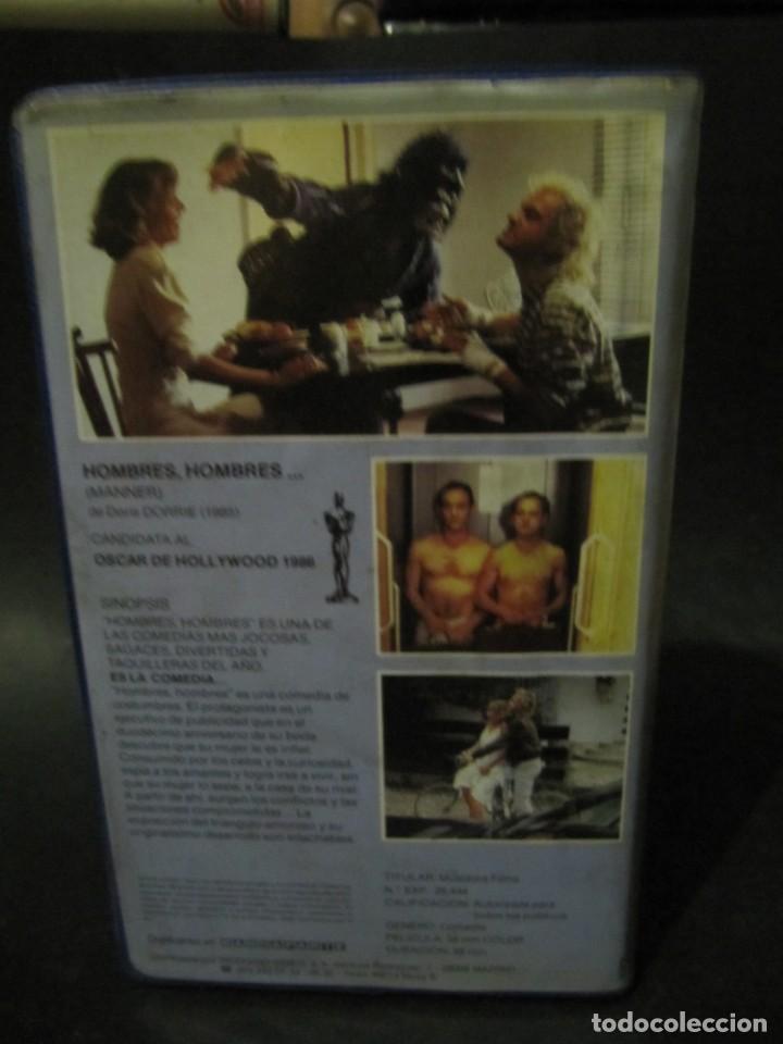 Cine: BETA VIDEO HOMBRES HOMBRES Heiner Lauterbach Uwe Ochsenknecht Doris Dörrie 1ª EDICION CAJA GRANDE - Foto 3 - 130512702