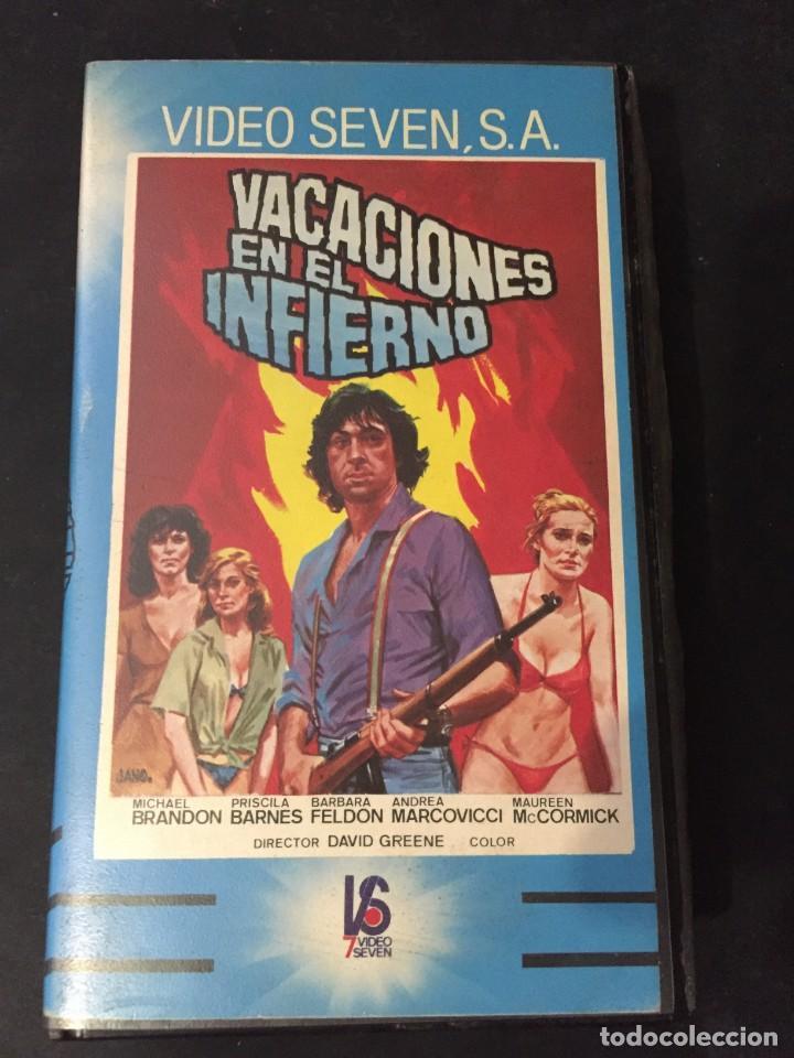 BETA VIDEO VACACIONES EN EL INFIERNO A Vacation in Hell Priscilla Barnes Barbara Feldon David Greene, usado segunda mano