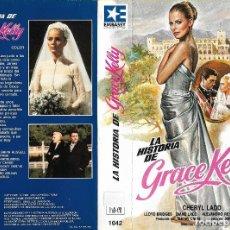 Cine: LA HISTORIA DE GRACE KELLY - CHERYL LADD, LLOYD BRIDGES - AUTOBIOGRAFICA - REGALO TRANSFER. Lote 131134512