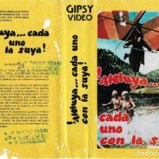 Cine: ALELUYA CADA UNO CON LA SUYA - GIANNI GARKO - EDICION ARCAICA - RAREZON - REGALO MONTAJE EN DVD. Lote 131134836