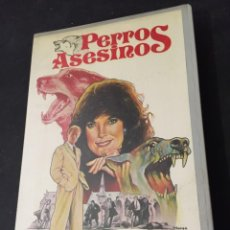 Cine: BETA VIDEO PERROS ASESINOS LINDA GRAY DAVID MCCALLUM SANDRA MCCABE 1ª EDICION I.V.E.. Lote 131141732