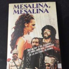 Cine: BETA VIDEO MESALINA MESALINA BRUNO CORBUCCI NO EDITADA EN DVD . Lote 131185772