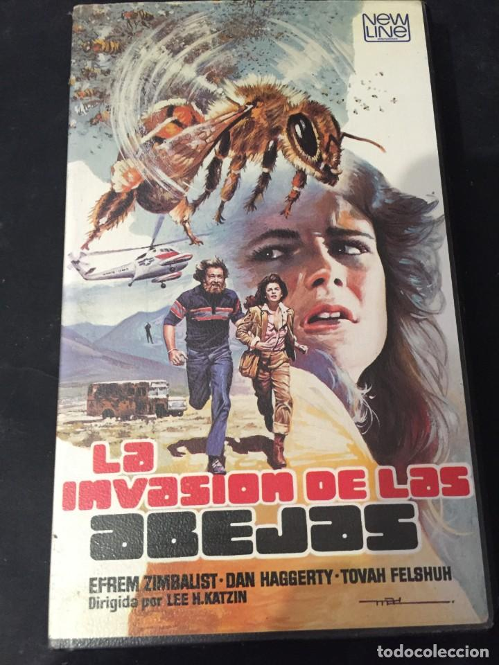 BETA VIDEO LA INVASION DE LA ABEJAS CARATULA MAC MACARIO GOMEZ EDICION UNICA EN TC NO EDITADA EN DVD (Cine - Películas - BETA)
