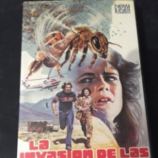 Cine: BETA VIDEO LA INVASION DE LA ABEJAS CARATULA MAC MACARIO GOMEZ EDICION UNICA EN TC NO EDITADA EN DVD. Lote 131187392